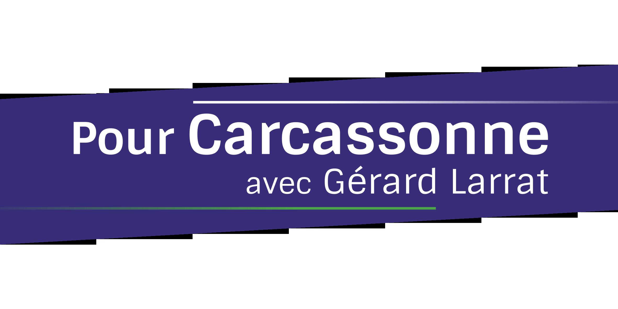 Pour Carcassonne avec Gérard Larrat